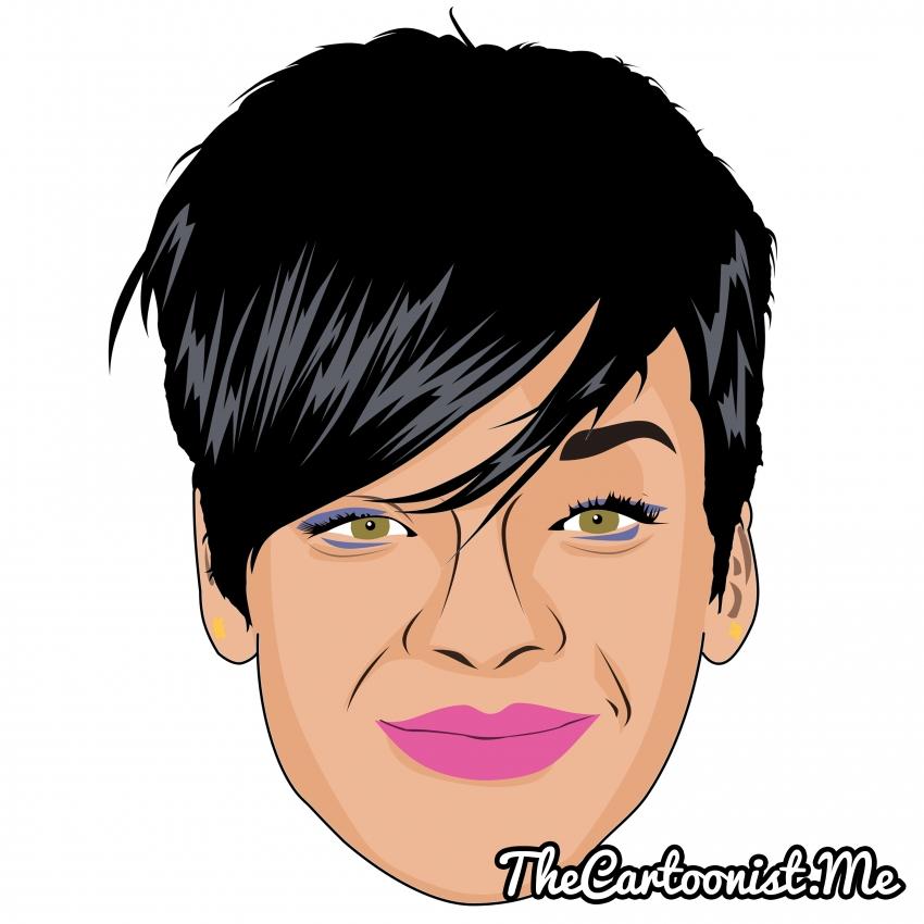 Rihanna par TheCartoonist